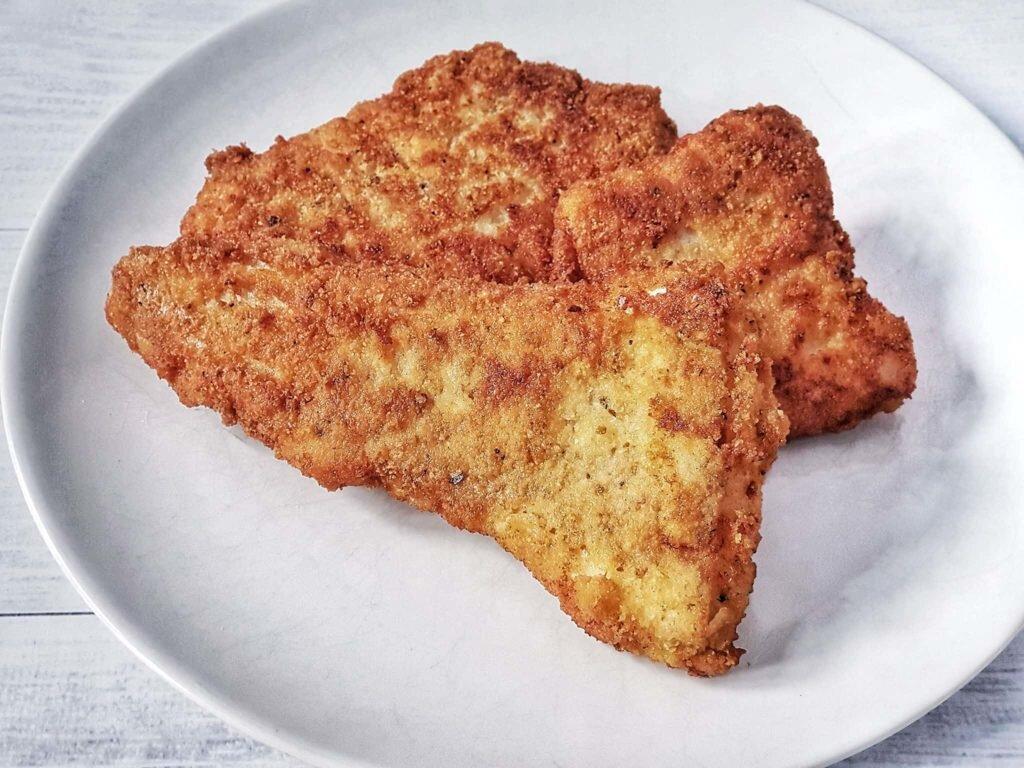 Filet z dorsza w panierce ojciec gotuje ojciecgotuje.pl blog kulinarny